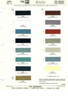 Gto Paint Codes
