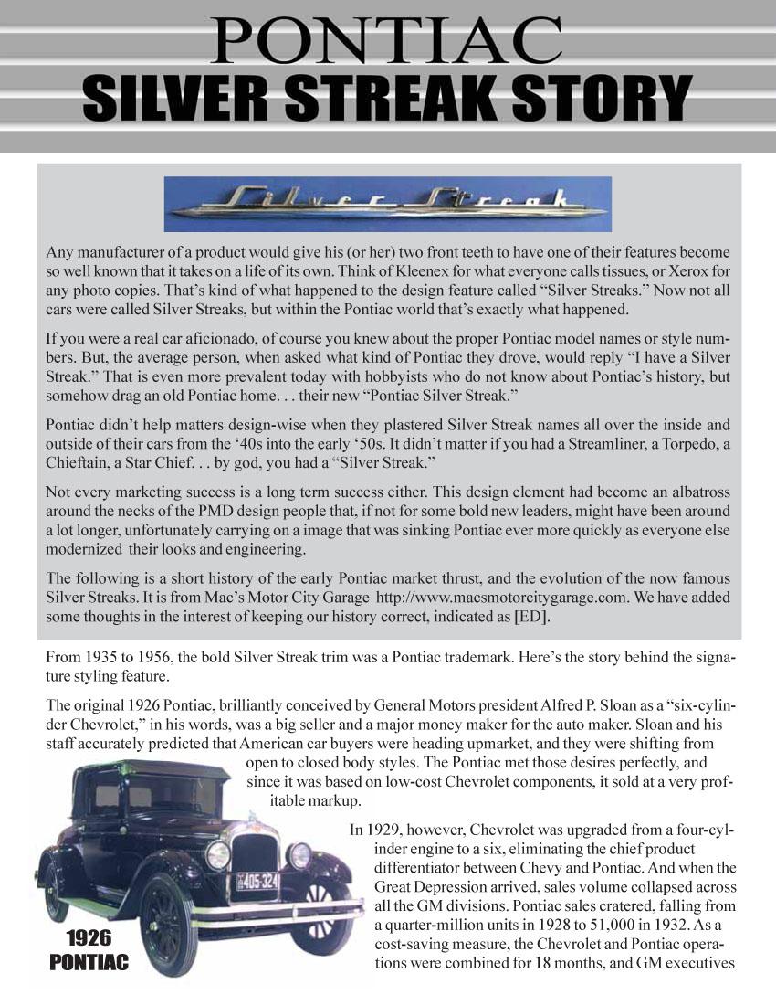 PontiacRegistry.com :: Magazine Contents
